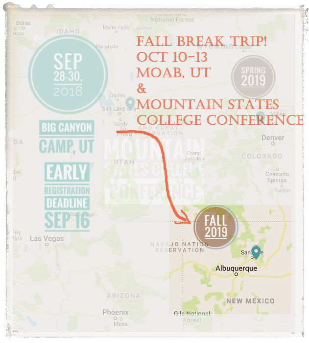 2019-fall-break-trip-and-college-conference-map