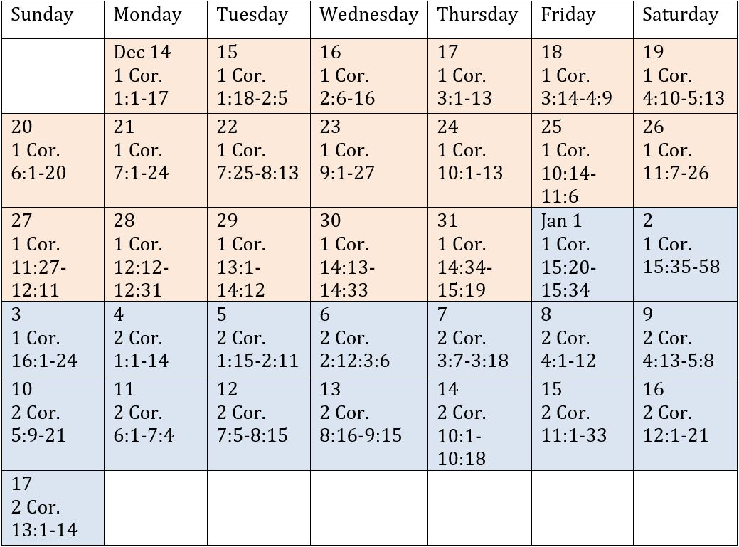 Bible-Reading-Schedule