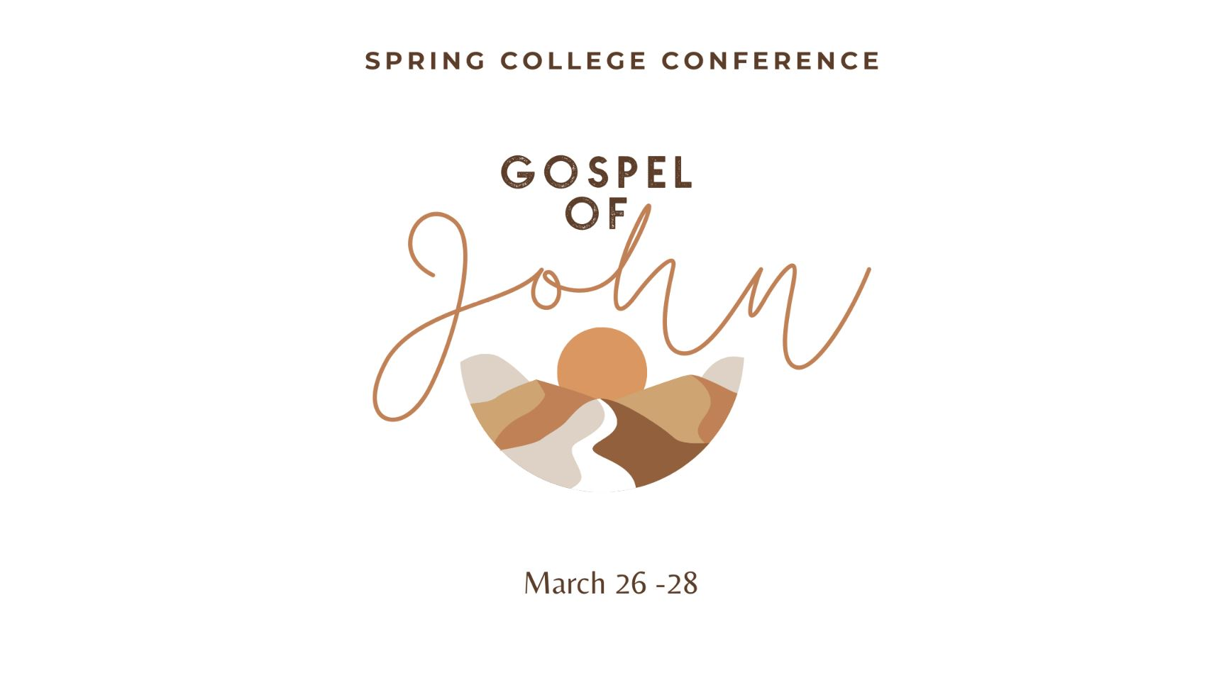 Spring 2021 College Conference - Feature